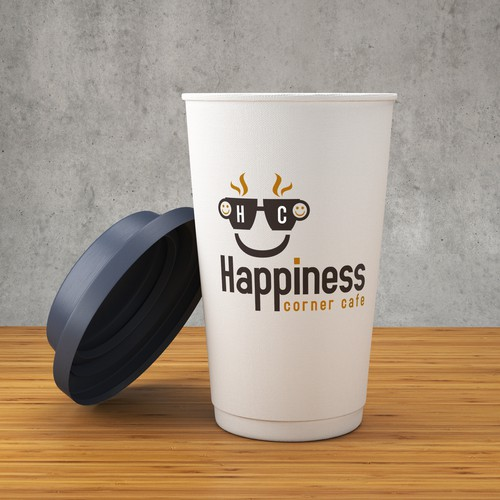 Happiness Corner Cafe Logo