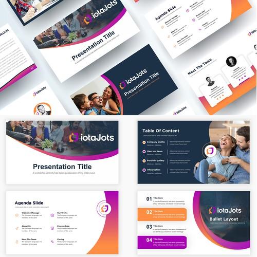 Technology PowerPoint presentation design