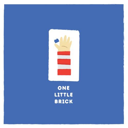 One Little Brick Logo Concept
