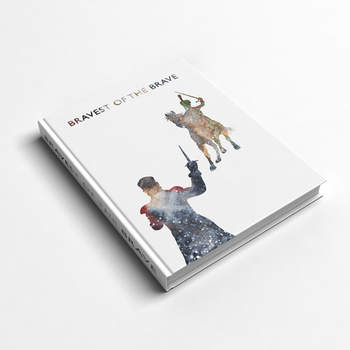 Create a book cover for a fictional historical war novel set in Russia in 1812
