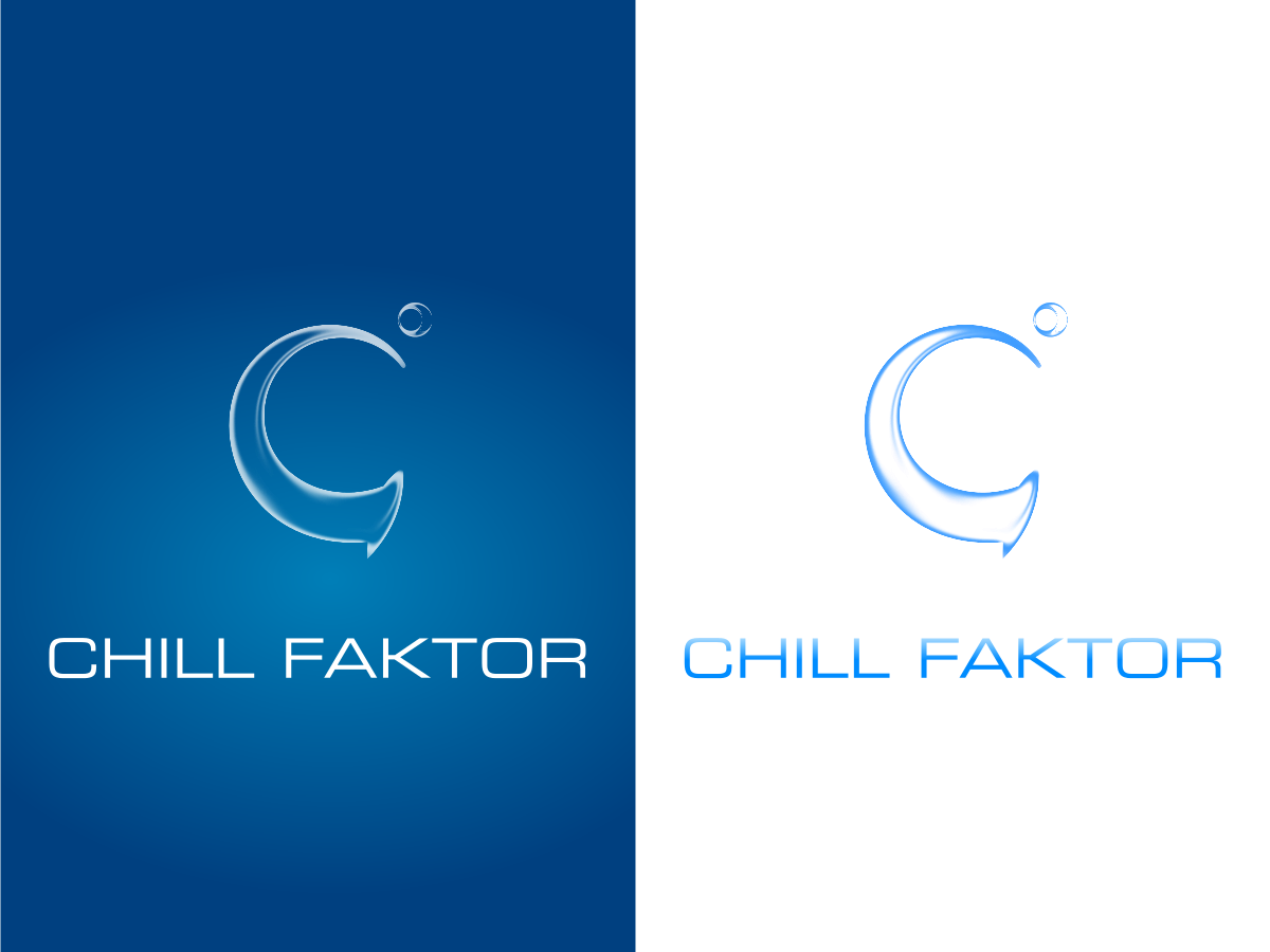 chill faktor  needs a new logo