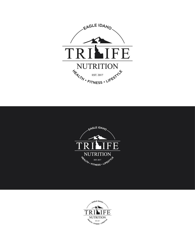 Design a hip logo for a healthy smoothie and tea shop