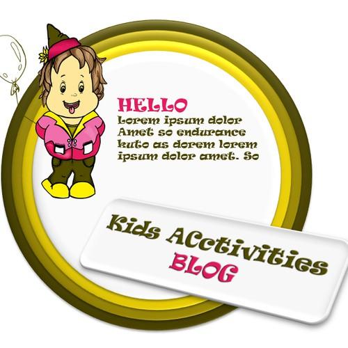 Be the Designer of Kids Activities Blog New Logo