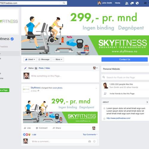 Skyfitness facebook cover