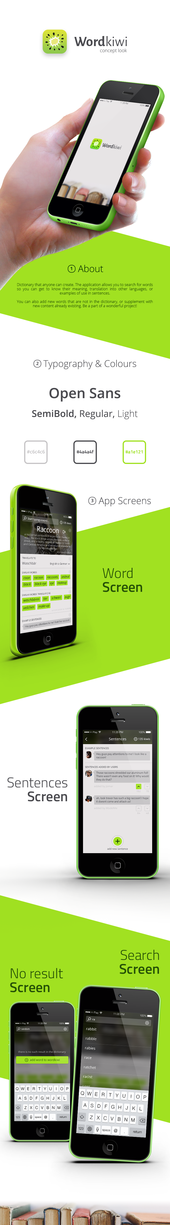 Create a friendly and social app for wordkiwi