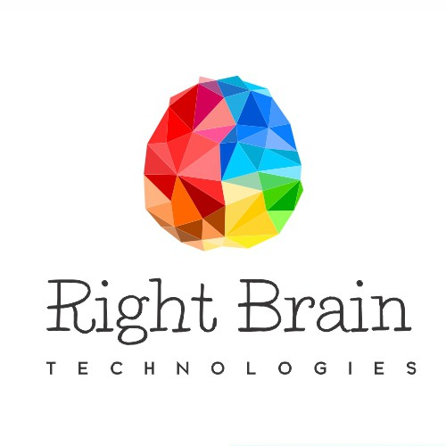New logo and business card wanted for Right Brain Technologies