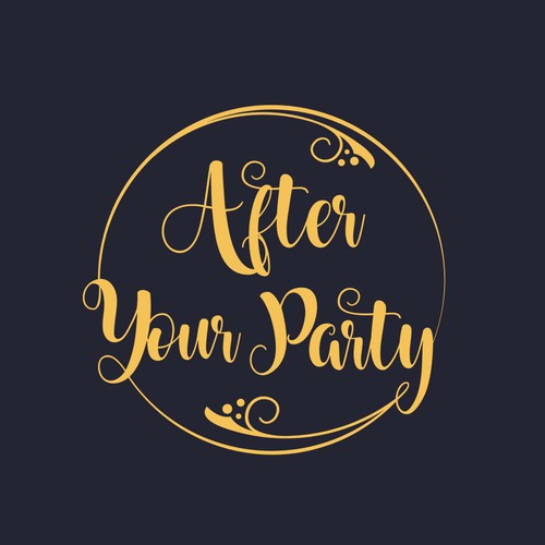 After Your Party Logo Design