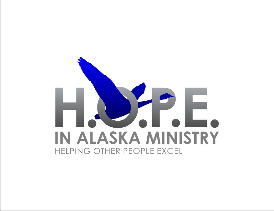New logo wanted for H.O.P.E. In Alaska Ministry (Helping  Other People Excel)