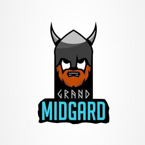 Viking Logo Nordic Style