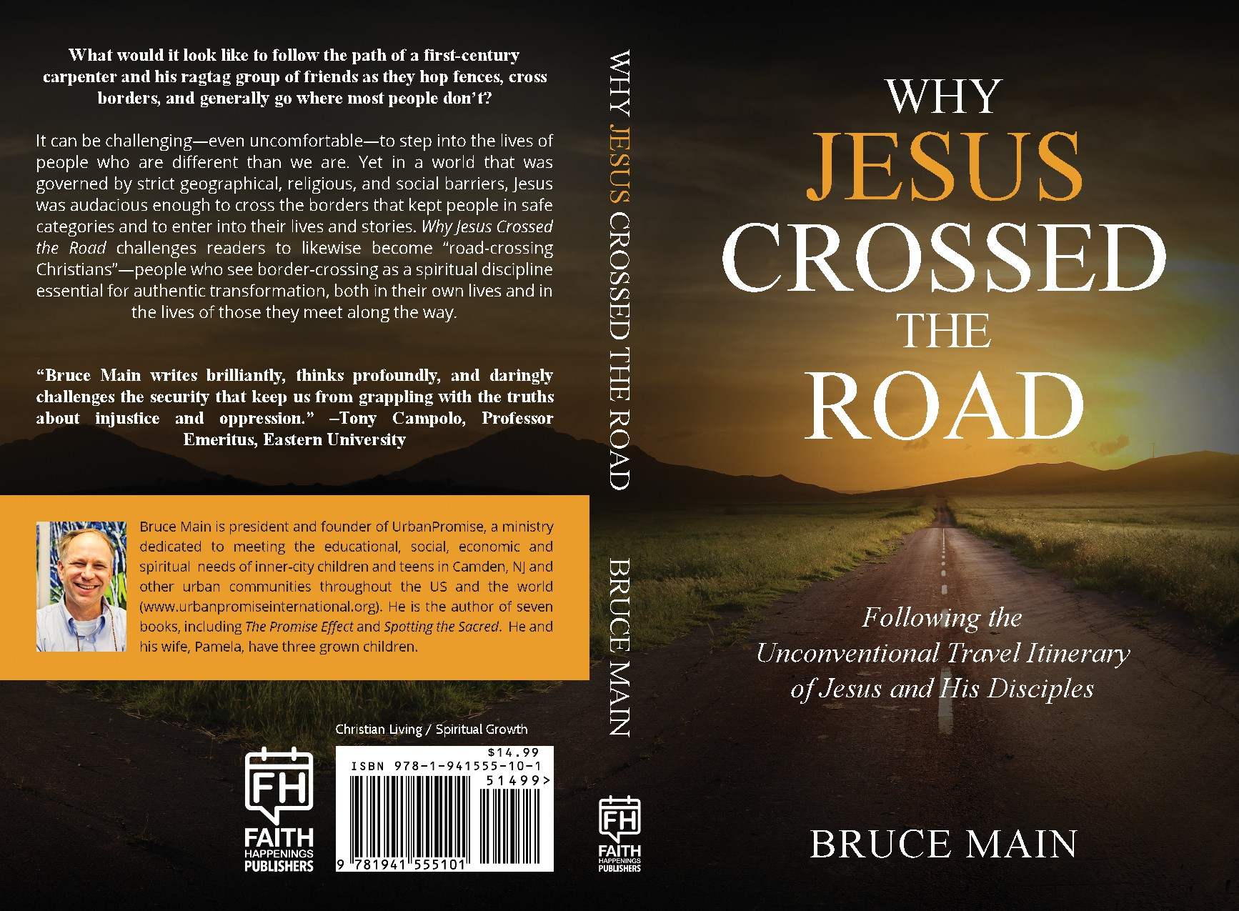 Create a book cover for a book on what it means to authentically follow Jesus