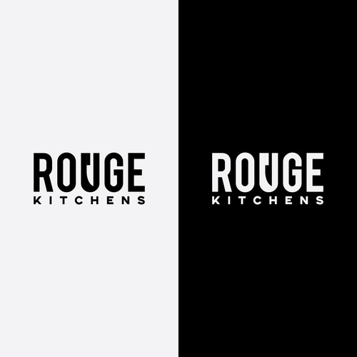 Clever word mark for Rouge