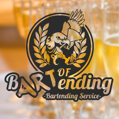 Create a logo for a Bartending Service!