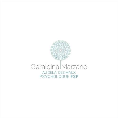 logo concept for Geraldina Marzano