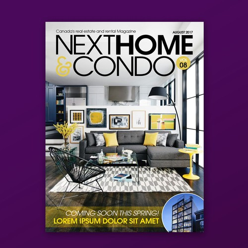 New Masthead For Canada Real Estate Magazine