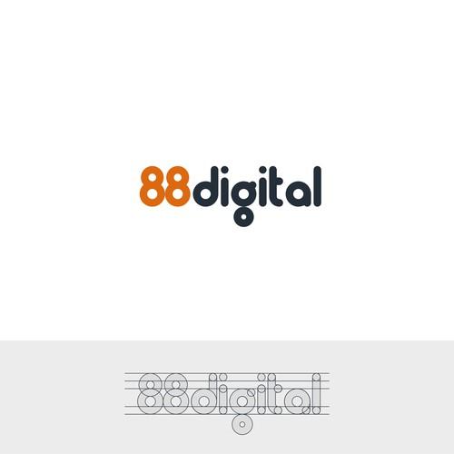 Logo for 88 digital
