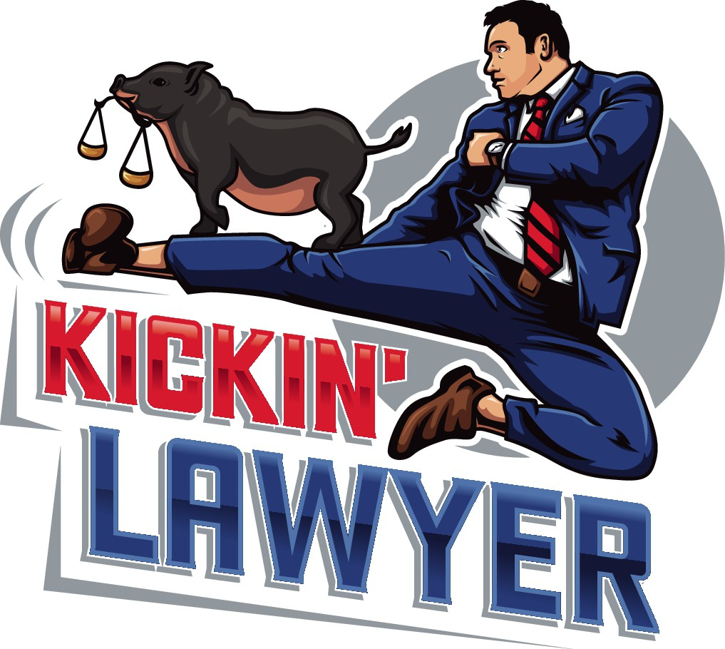 Help the Kickin' Lawyer & the Law Hog bring justice to all