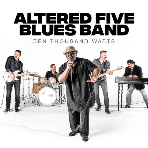 ALTERED FIVE BLUES BAND COVER CD