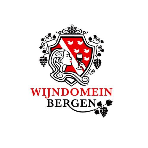Logo Wijndomein Bergen