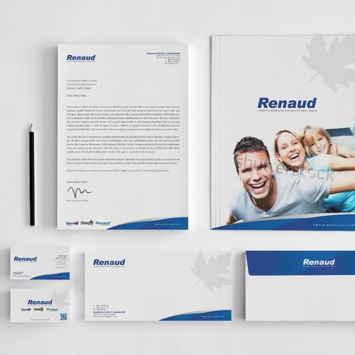 Renaud Brand Identity
