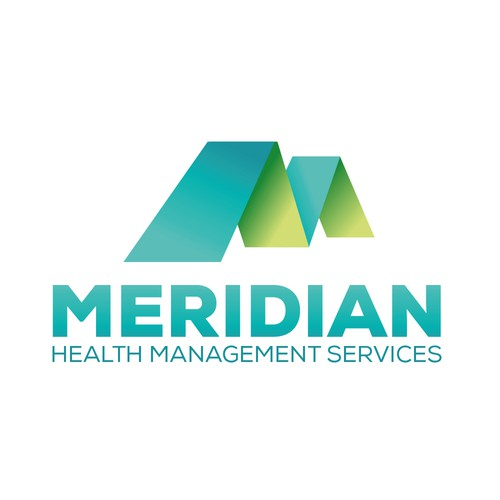 Logo Design for Meridian Health Management