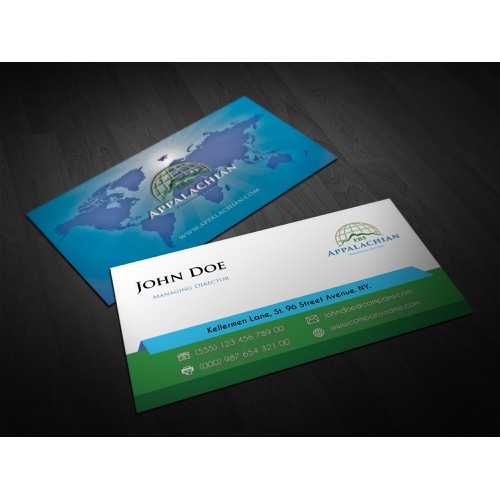 Business Card for a Consulting Company