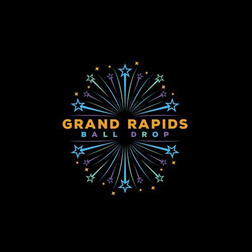Grand Rapids Ball Drop Logo Entry