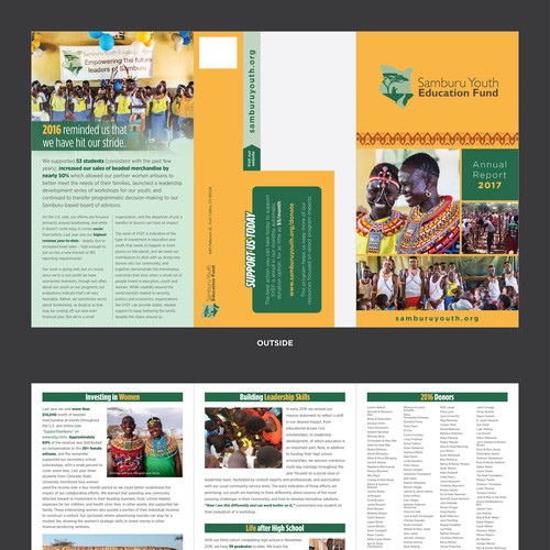 SYEF 2016 Annual report