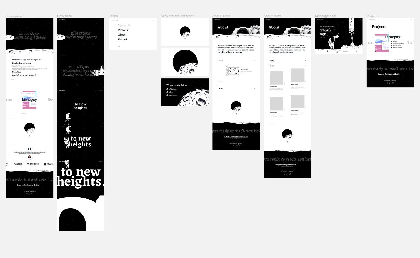 Funky, fun, creative, different, quirky - Boutique digital marketing agency seeking UNIQUE website design