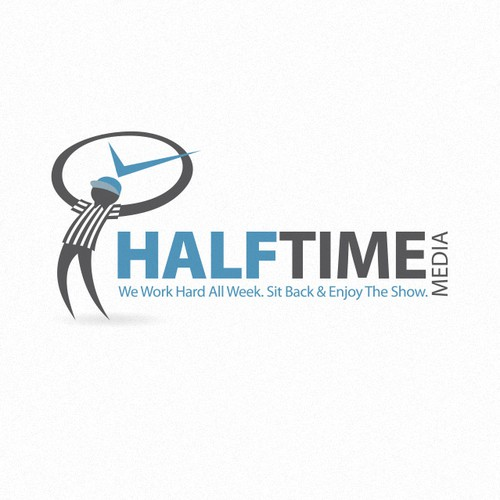 logo for Half Time Media, LLC