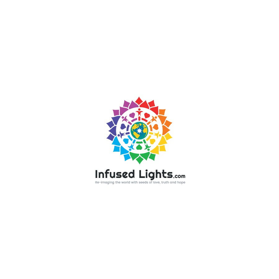 Design a logo that will make the world a better place ! InfusedLights.com