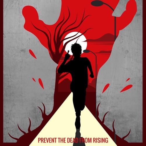 Zombie Minimalist Poster