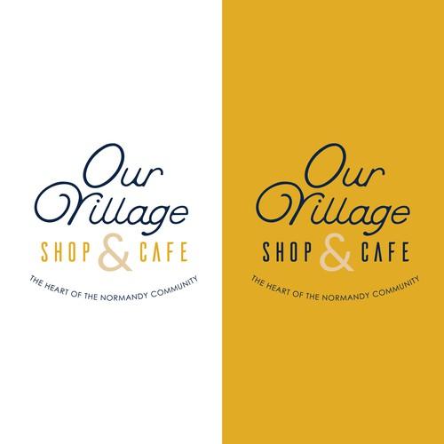 Our Village Shop & Cafe Logo