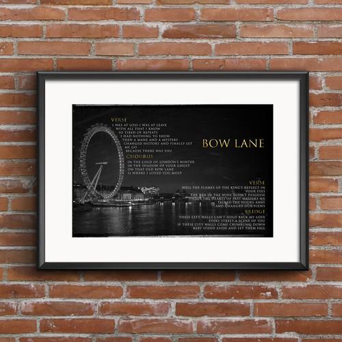 Letter Sheet (Bow Lane)