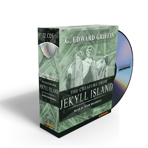 "Design the ""Creature from Jekyll Island"" cover for Audiobooks.com"
