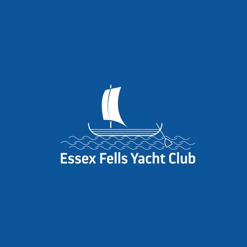 Logo design for Essex Fells Yacht Club