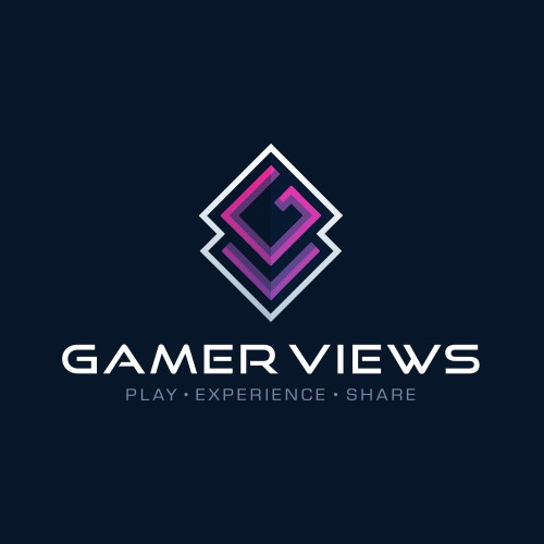 GAMER VIEWS - Logo Design & Hosted Website