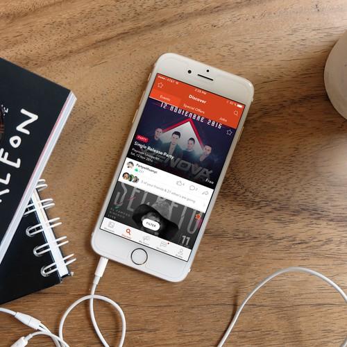 iOS app for lifestyle