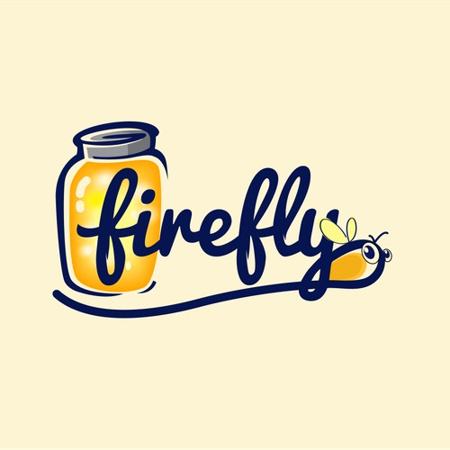 logo and business card for Firefly