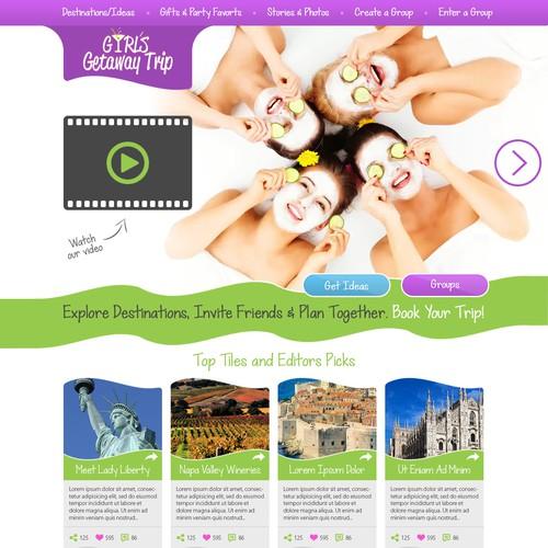 Girls Travel Website