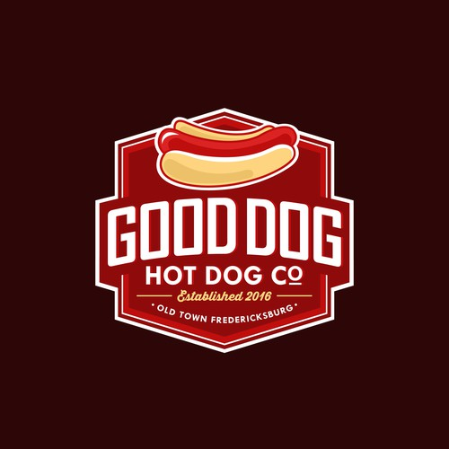 Good Dog Hot Dog Logo