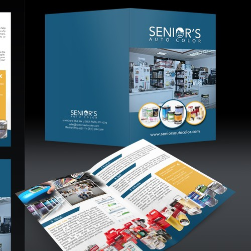 Creatives needed for company brochure design
