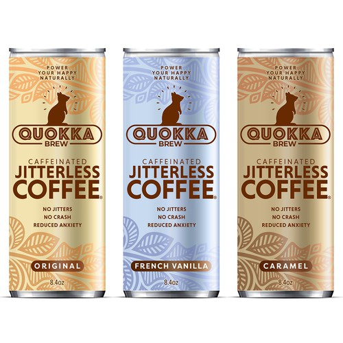 Package design for cold coffee drink