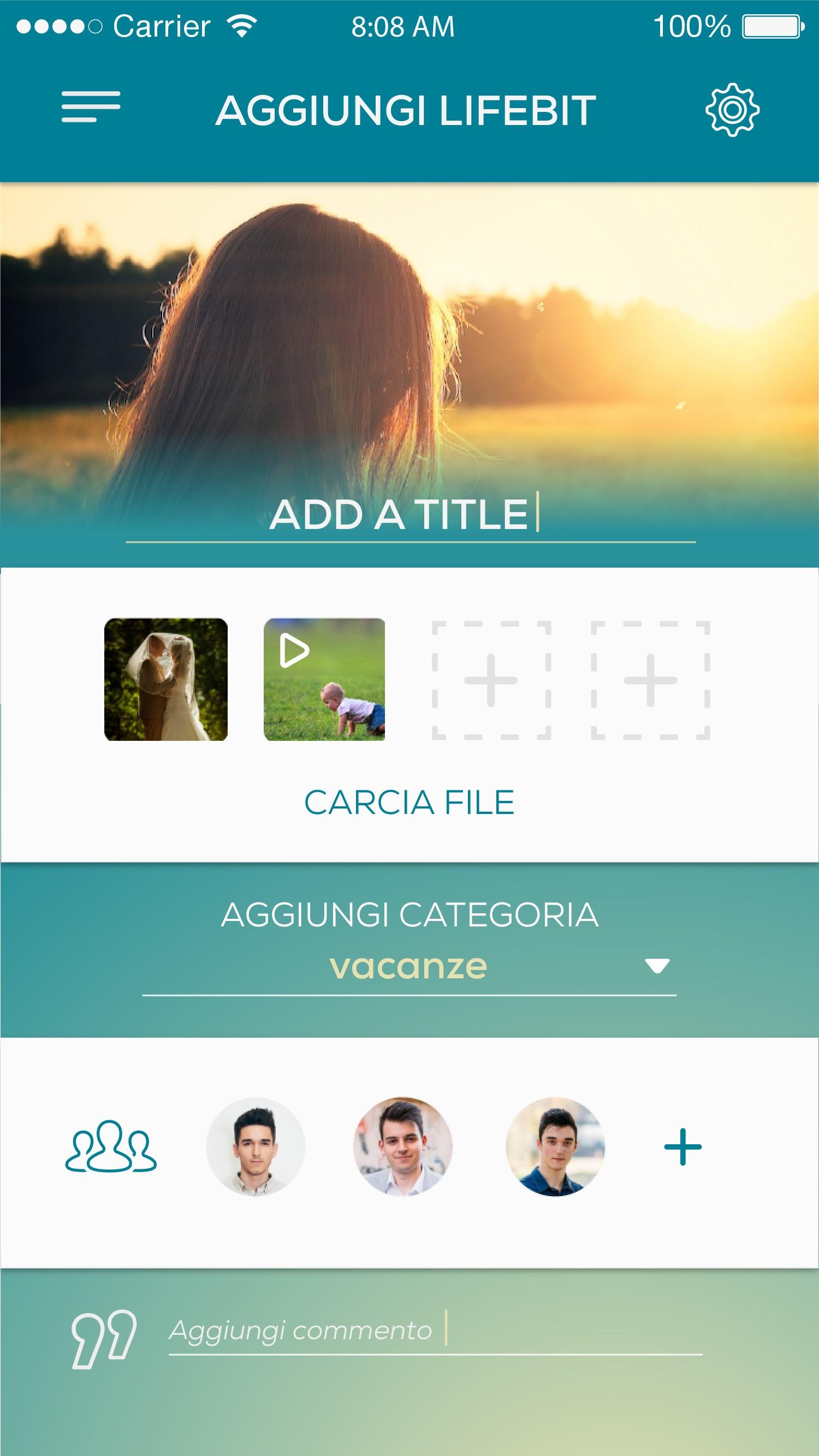 Mobile App for AETERNUUM
