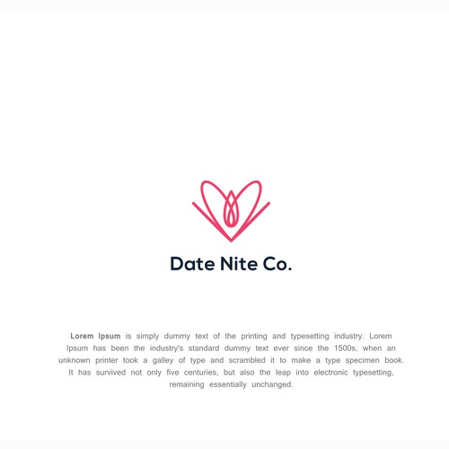 Design a logo for an events company to appeal to young couples
