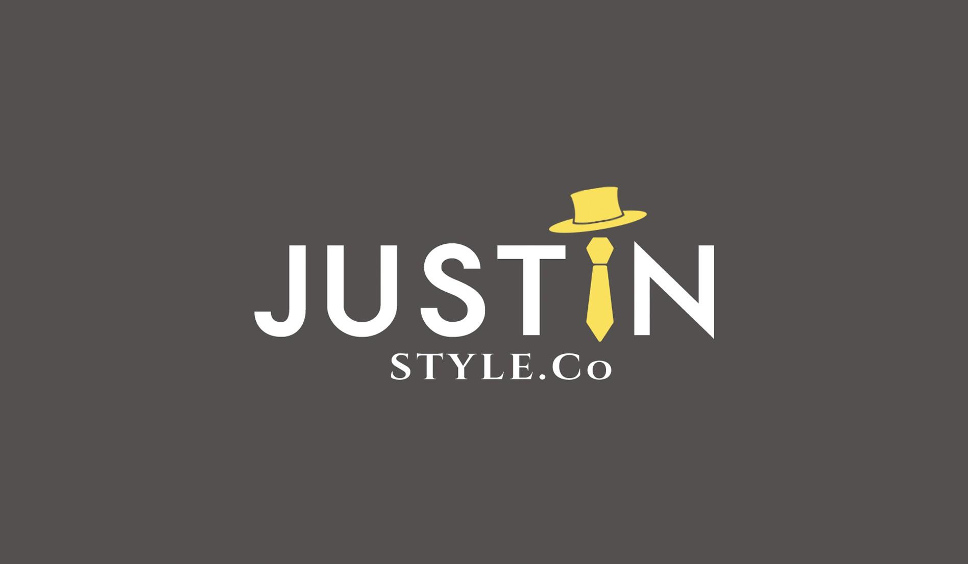 ><><>Modern, Sophisticated, Sleek Logo for Men's Apparel & Accessories Retailer JustInStyle.co<><><