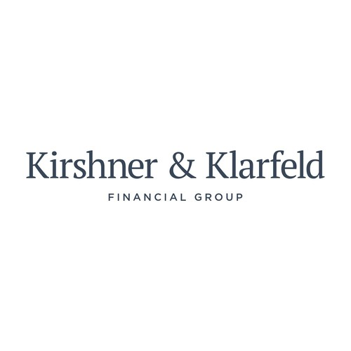 A minimalist and professional logotype for a financial firm