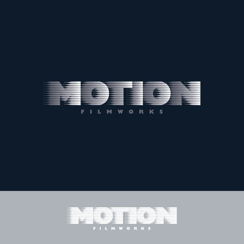 Create a logo for an up and coming Film Studio - Motion Filmworks