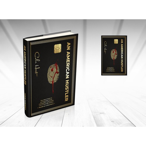 Book Cover Inspired by The American Express Centurion Card