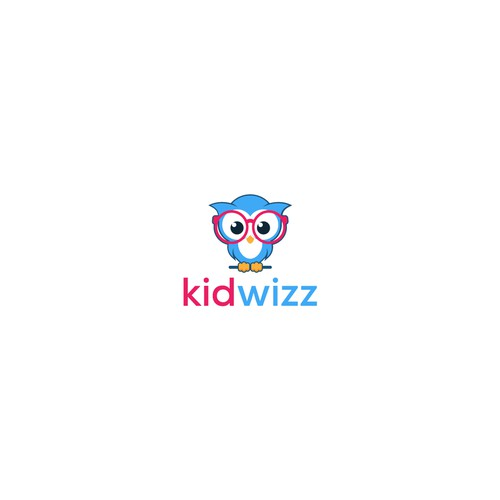 kidwizz logo design