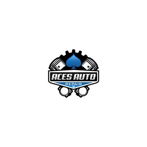 Aces Auto Repair Logo